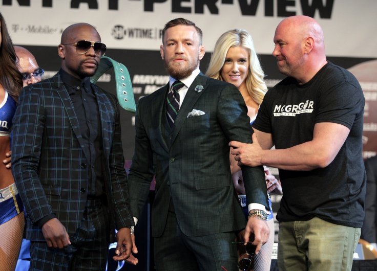 Floyd Mayweather, Conor McGregor and Dana White