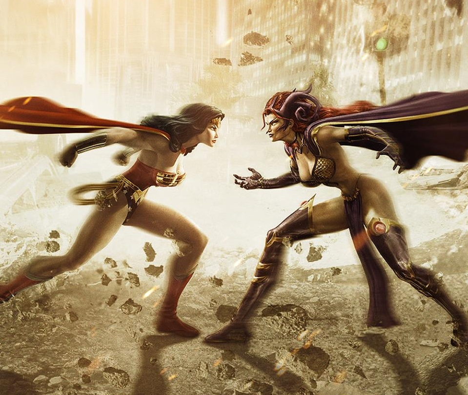 Wonder Woman and Circe