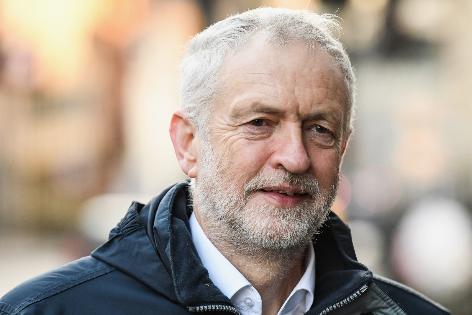 Jeremy Corbyn Meets The New Scottish Labour Leader For The First Time In Glasgow