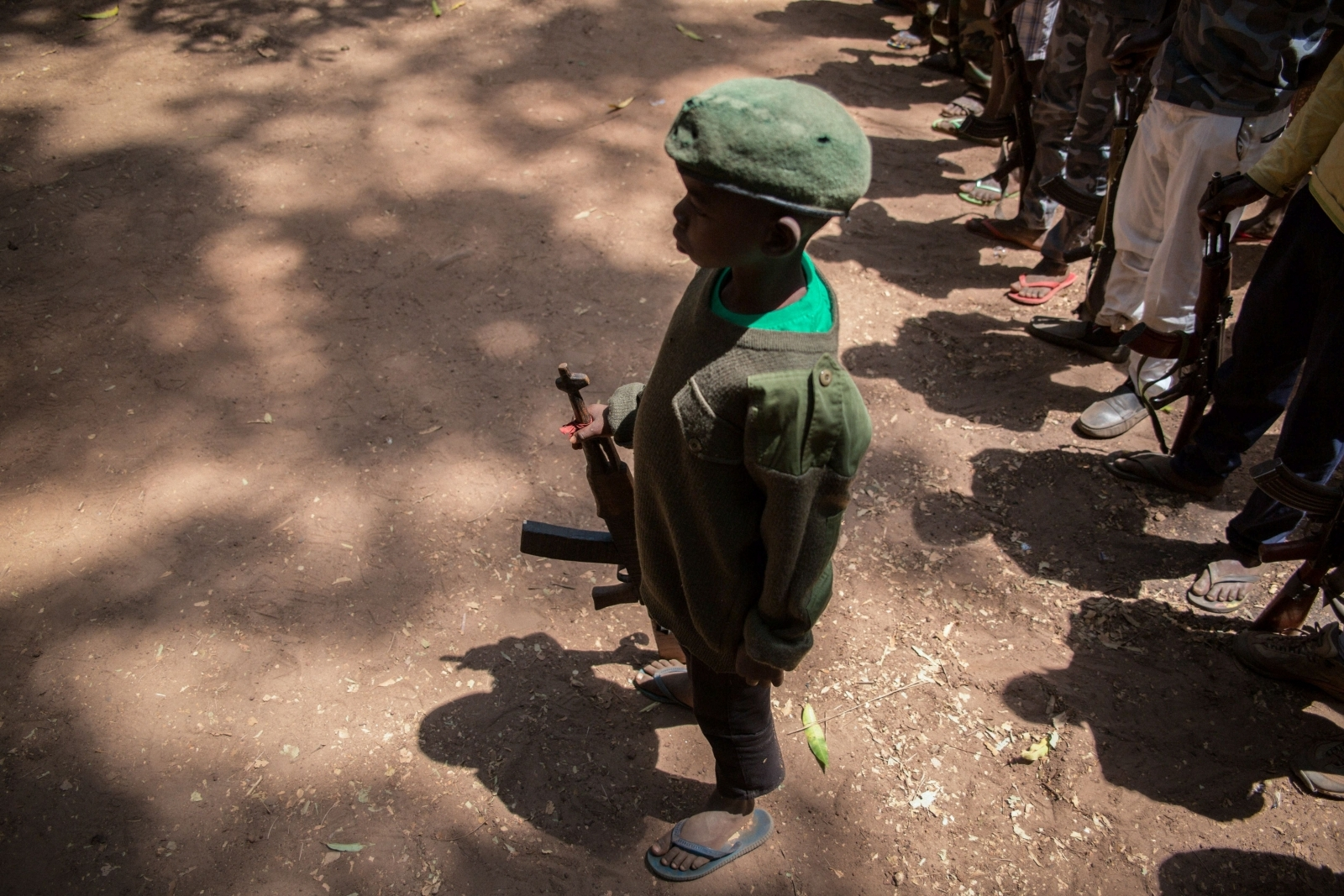 child soldiers South Sudan