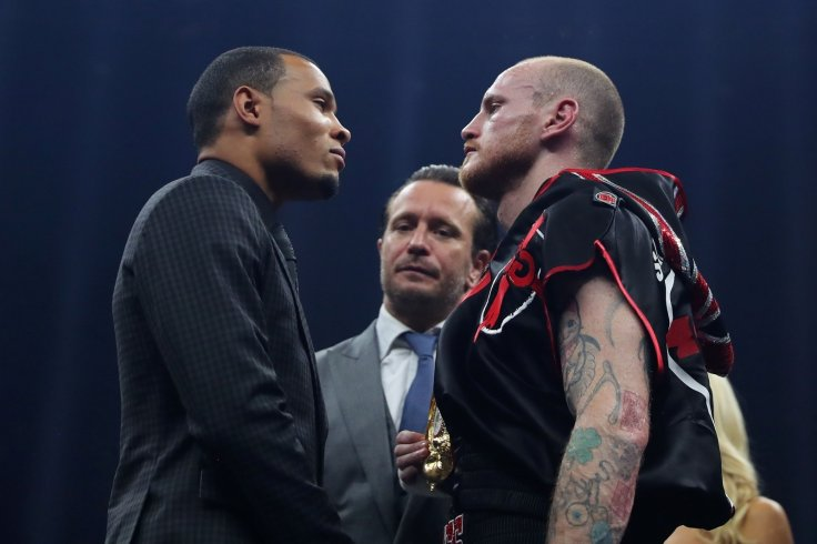 Chris Eubank Jr and George Groves
