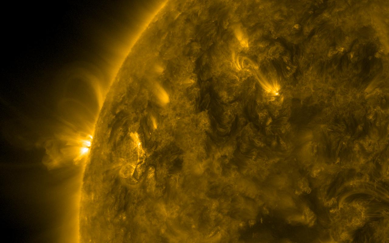 The Sun magentic loops