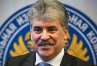 Pavel Grudinin, candidate in Russian presidential election