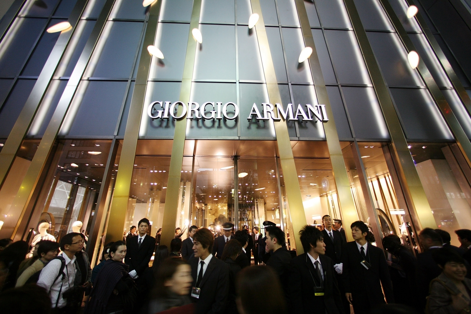 Outrage over Japanese primary school's £500 Armani uniform