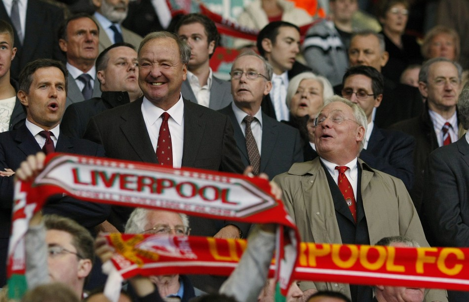Liverpool's former co-owners Hicks and Gillett