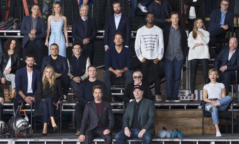 Marvel Cinematic Universe Class Photo