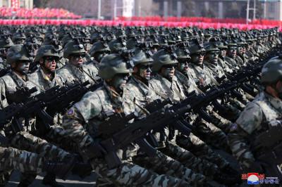 Grand military parade