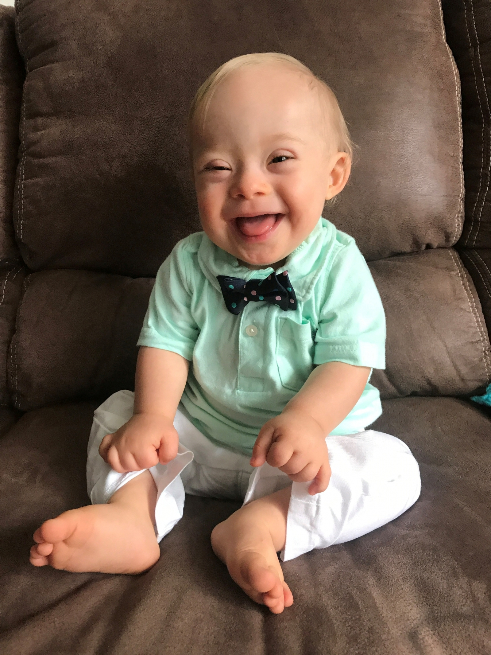 Meet 1-year-old Lucas Warren, the first child with Down syndrome to become face of Gerber Spokesbaby