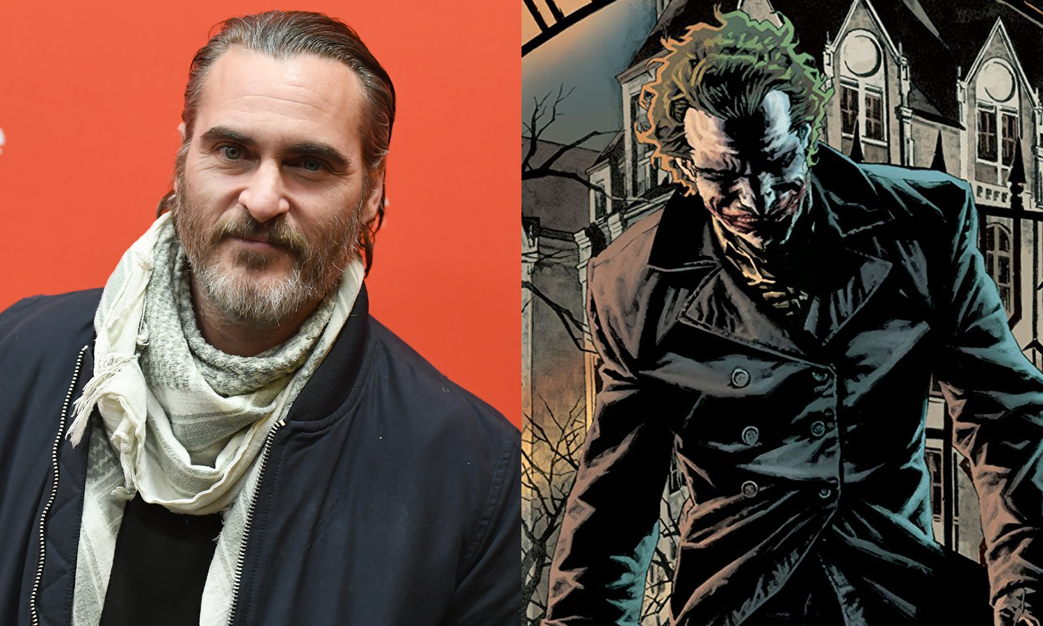 Joaquin Phoenix as the Joker? It could happen