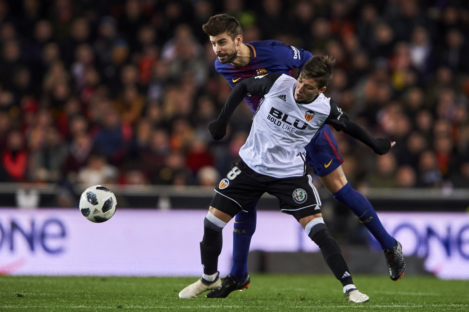 Spanish La Liga match report FC Barcelona v Getafe 11 February 2018