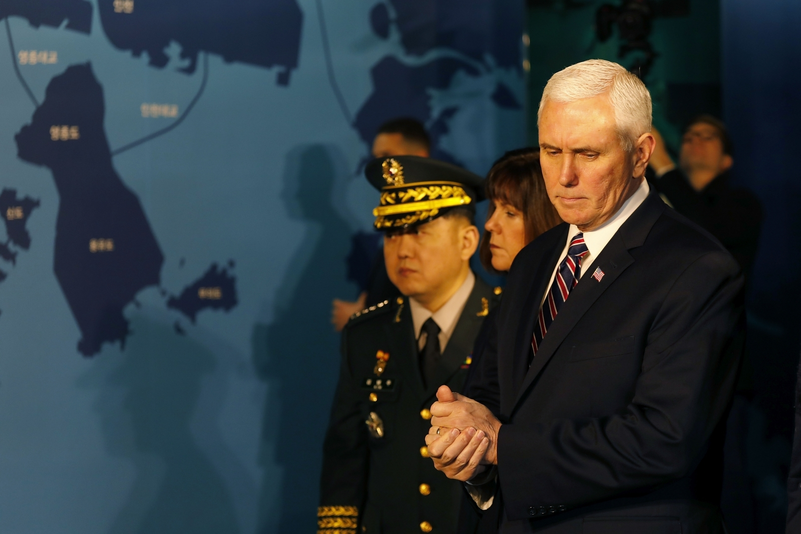 Amid Olympic thaw, Pence says allies united in isolating North Korea