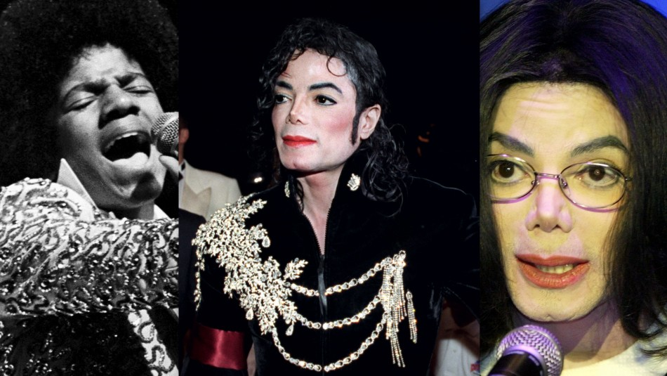 michael jacksons changing faces through the years photos