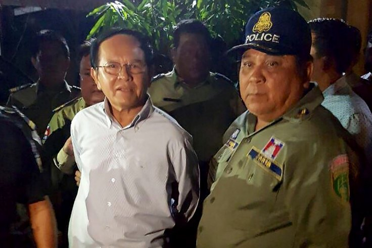 Cambodian opposition leader Kem Sokha arrested