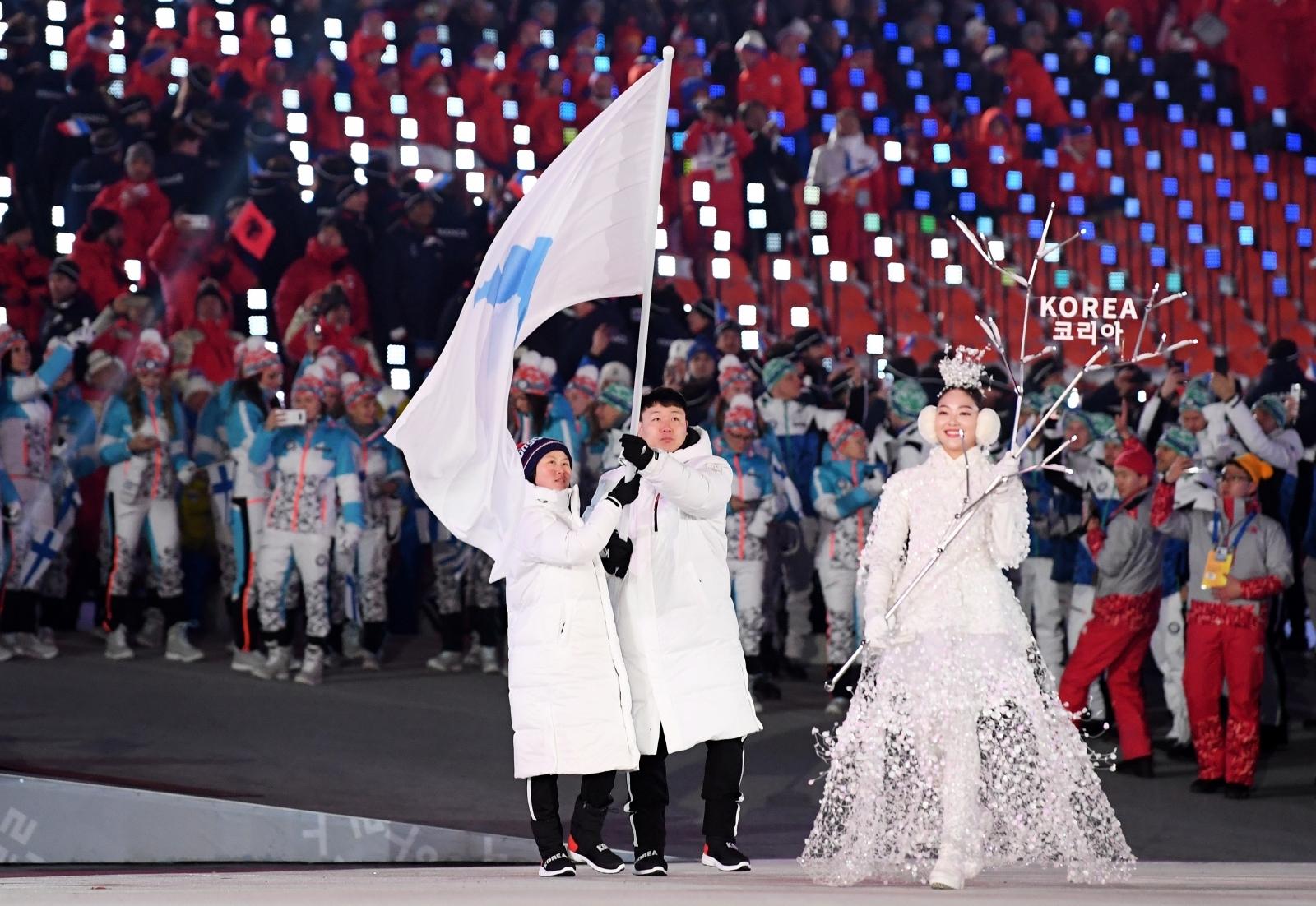 Unified Korean flag