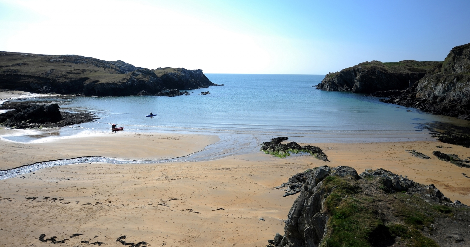 Beach in Anglesey