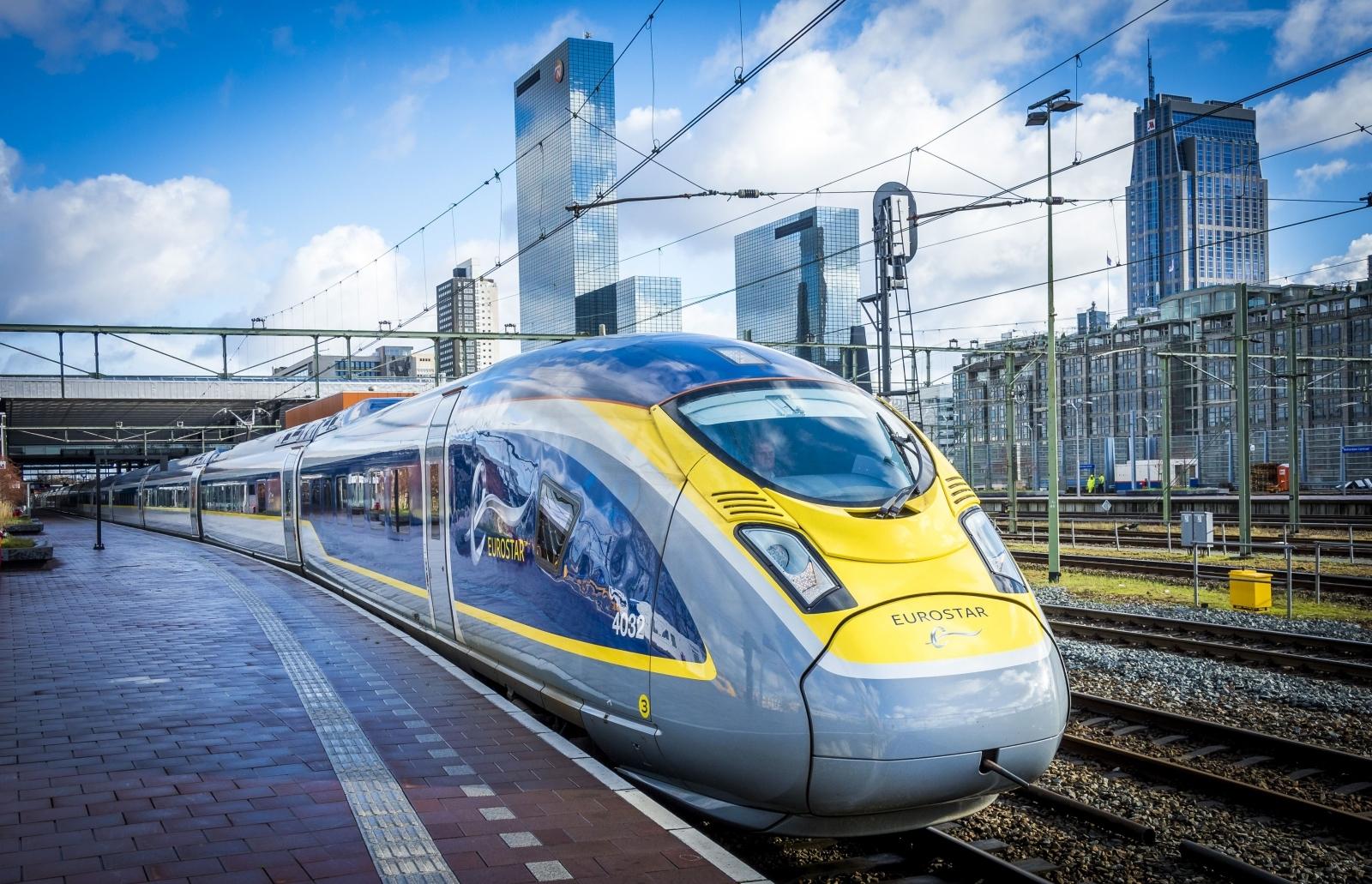 Eurostar in Amsterdam