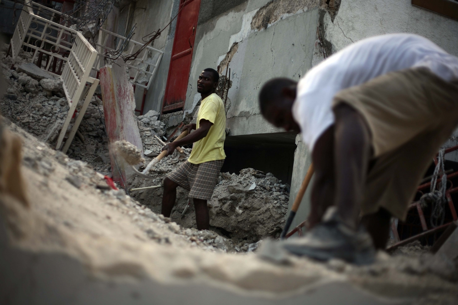 Top Oxfam staff paid Haiti quake survivors for sex