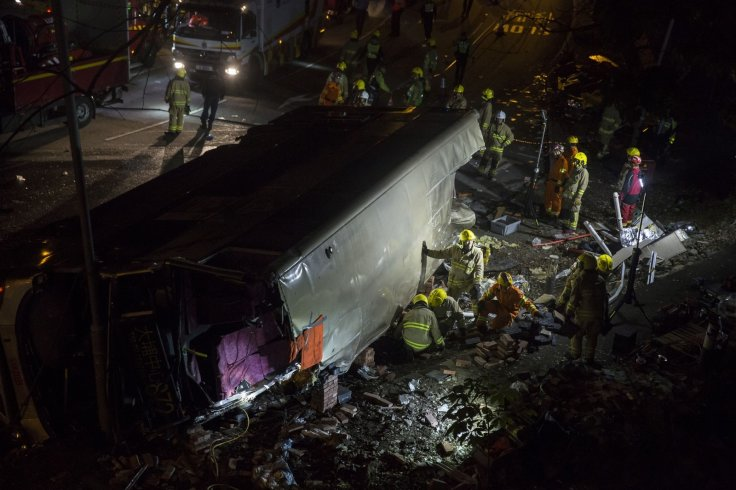 Hong Kong bus crash