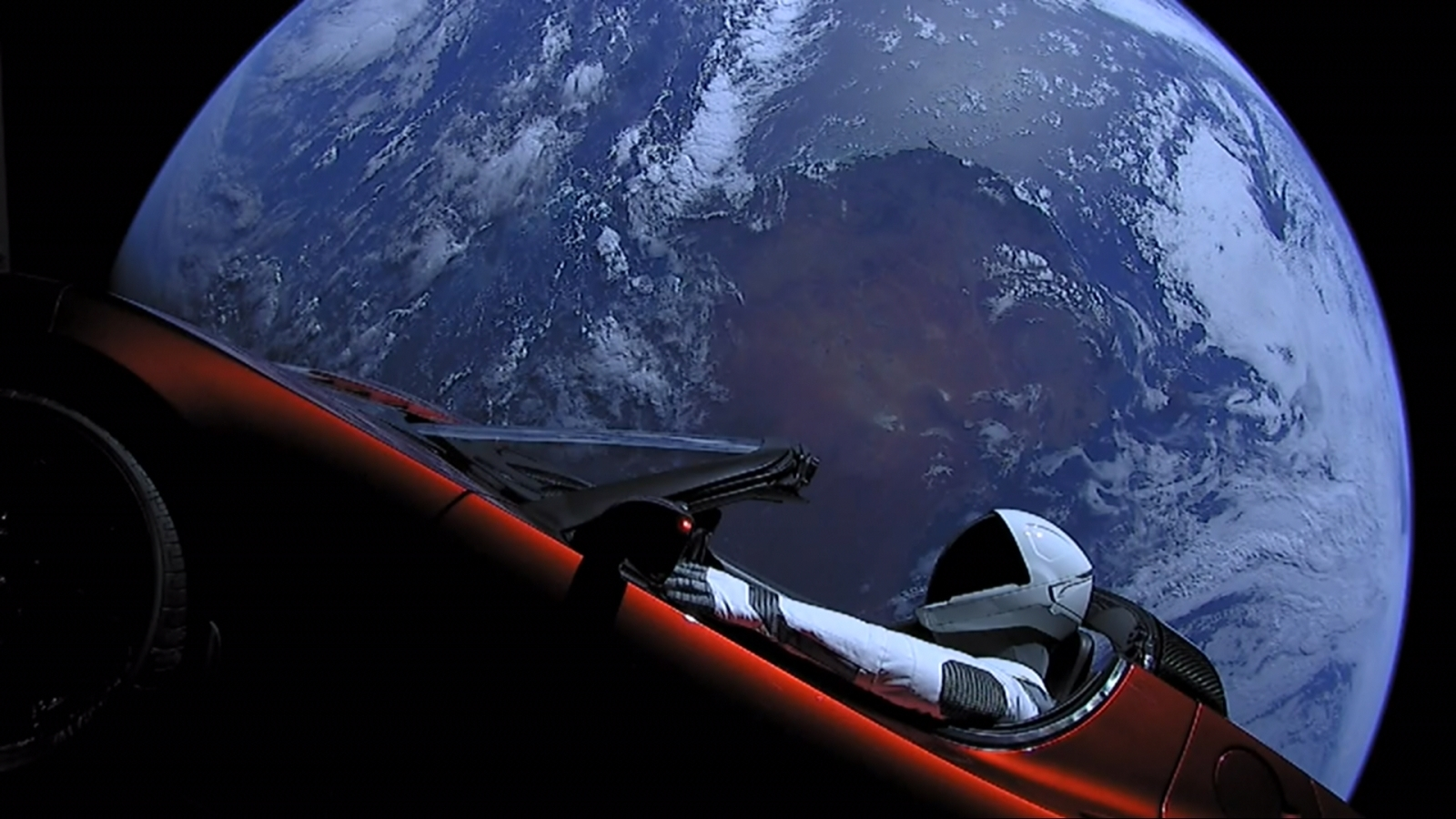 SpaceX's Starman spotted cruising through space at incredible speeds by astrophotographer