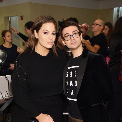Ashley Graham and Christian Siriano