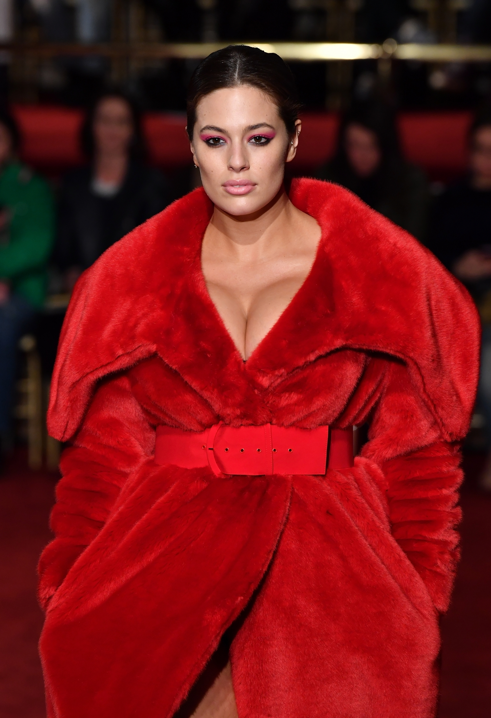 Ashley Graham catwalk