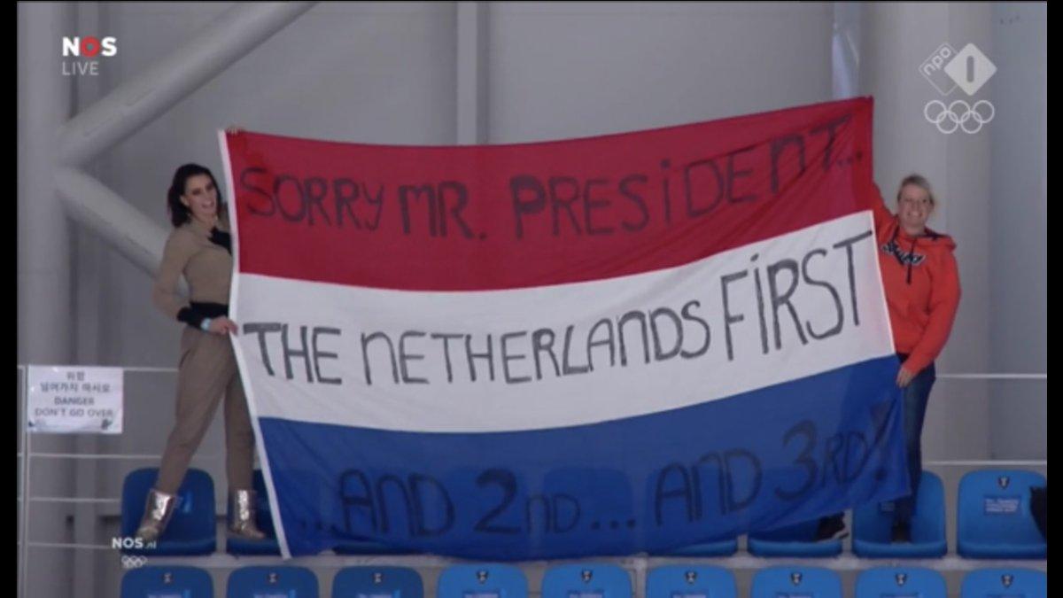 Dutch fans Olympics