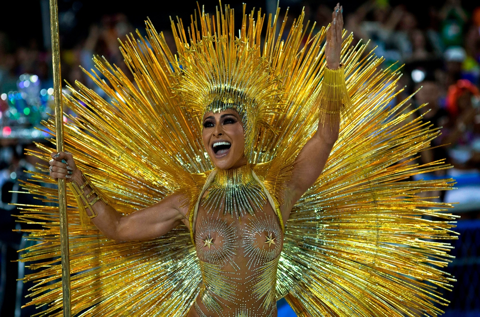 Rio Carnival 2018 night one: Eye-popping costumes and ...