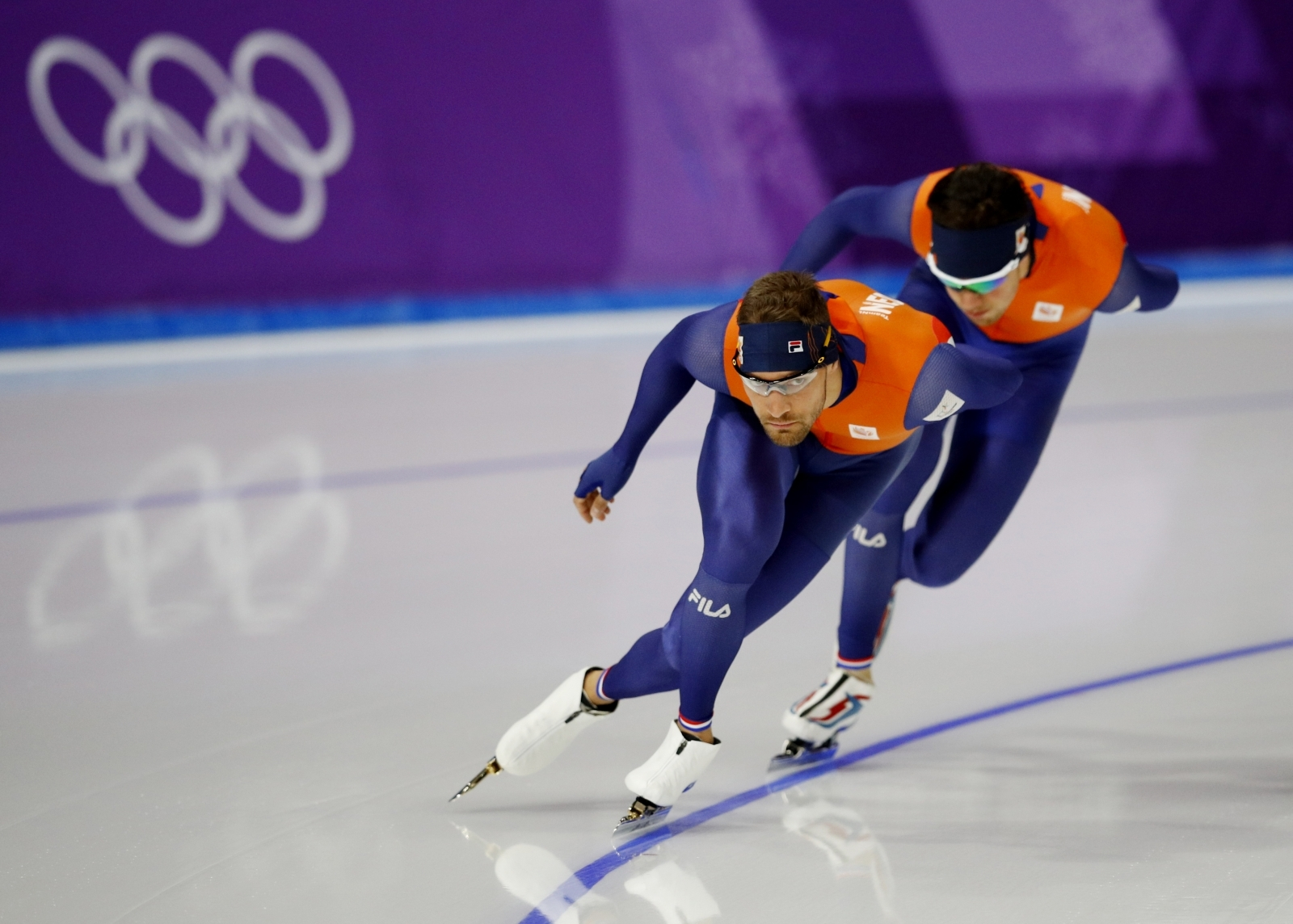 Dutch speed skating