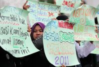 LGBT protest Malaysia