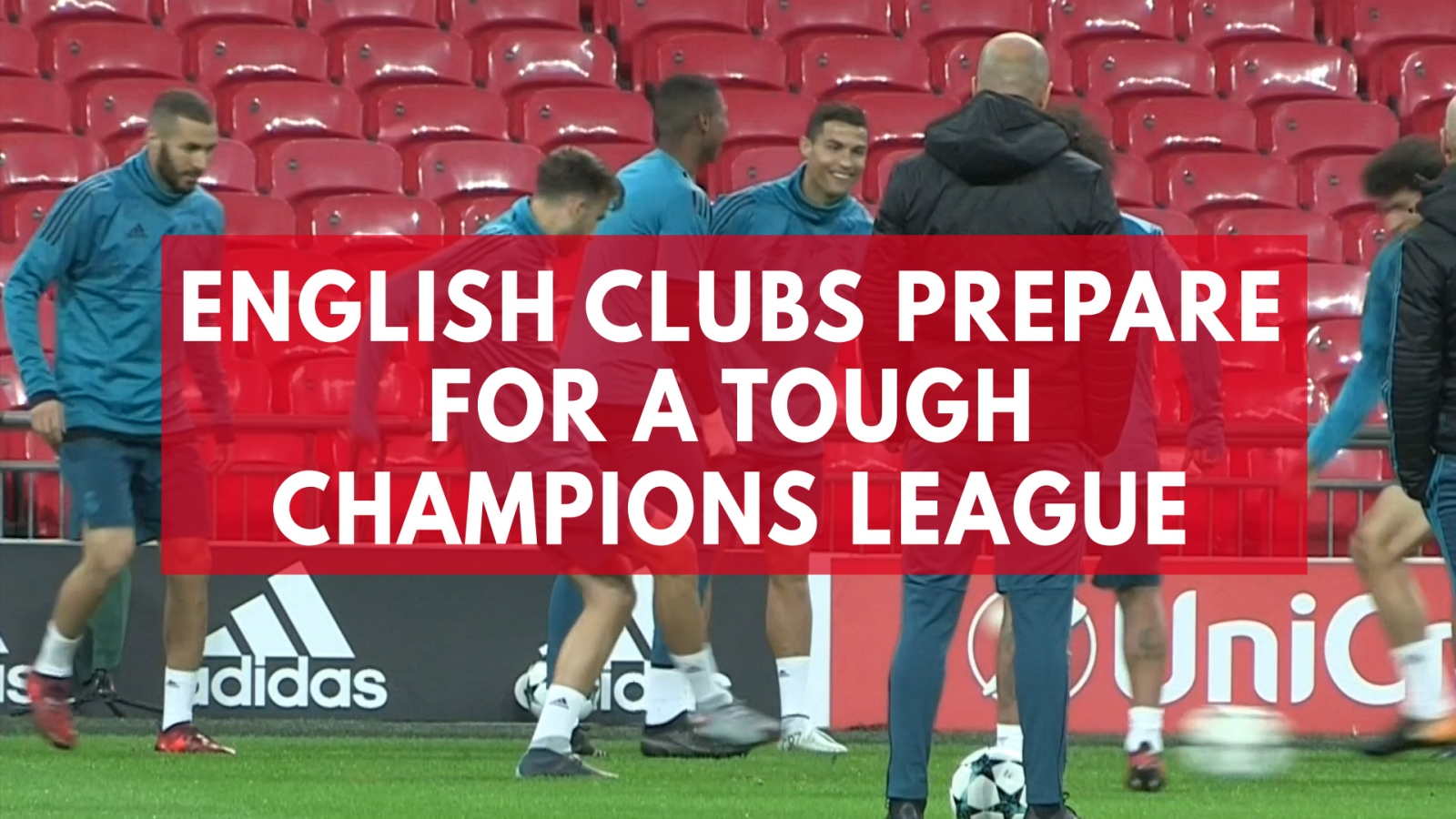 English clubs prepare for tough Champions League ties
