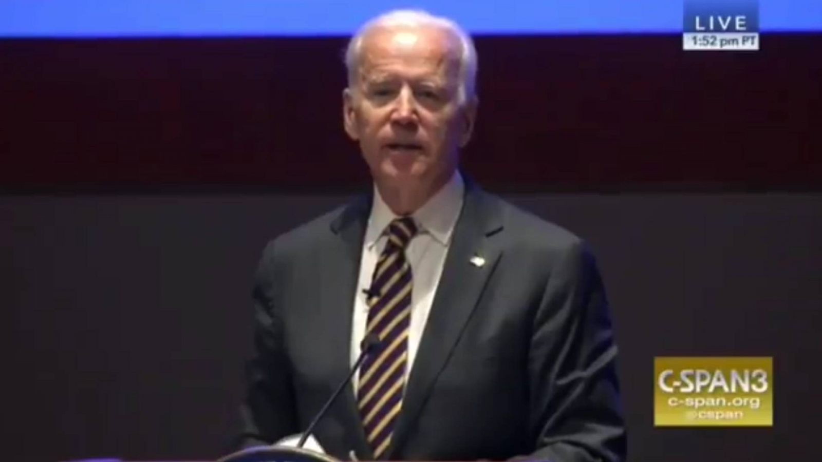 "Former Vice President Joe Biden Calls Trump Presidency A ""Tragedy"""