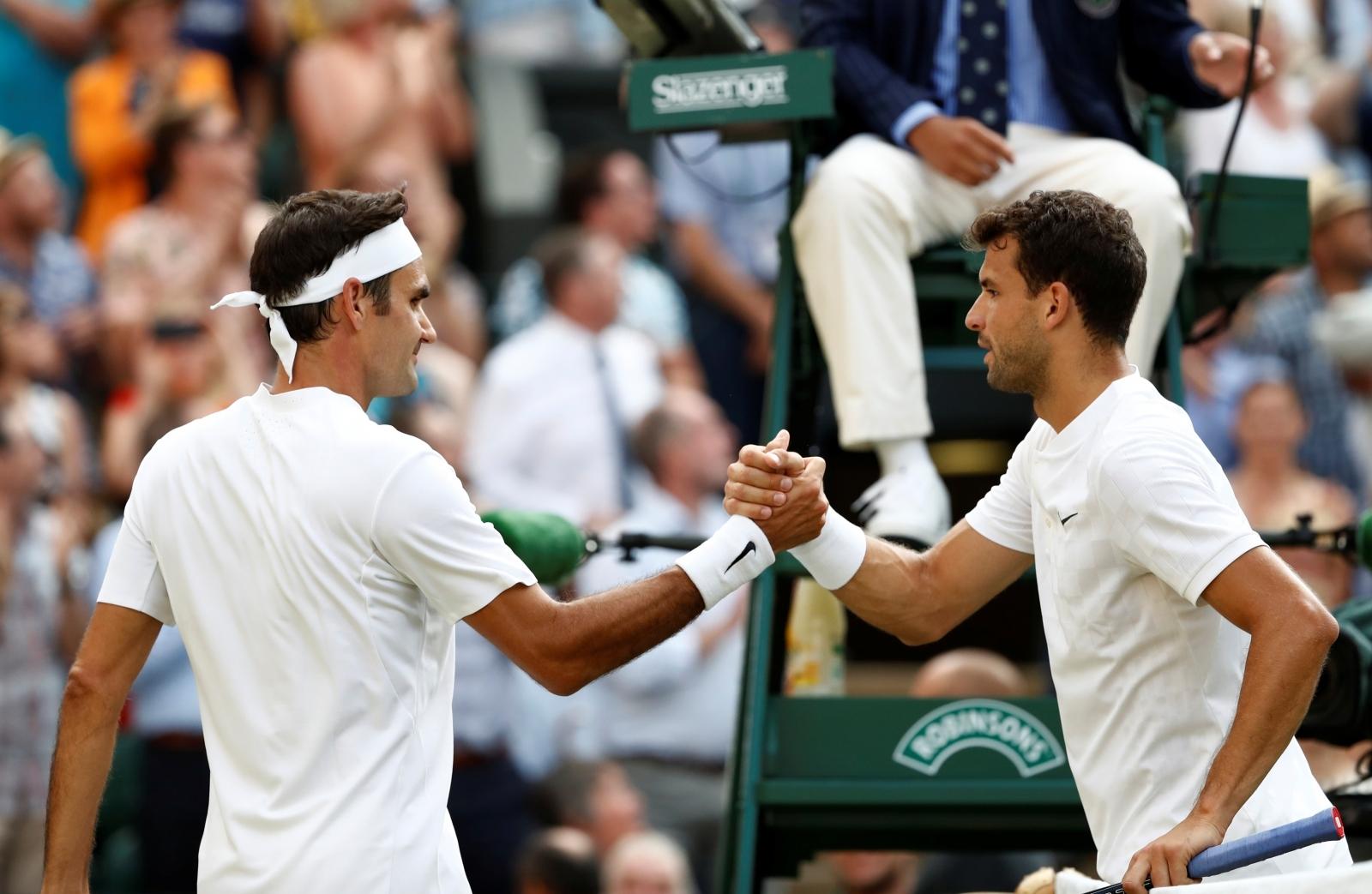 Federer and Dimitrov