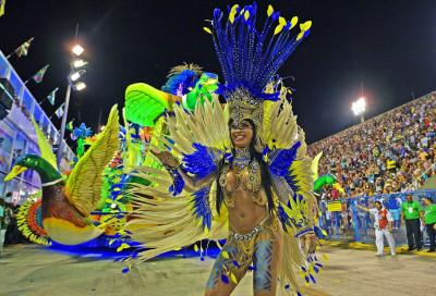 Rio Carnival 2018 Unio da Ilha