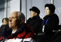 Mike Pence Kim Yo-jong Winter Olympics