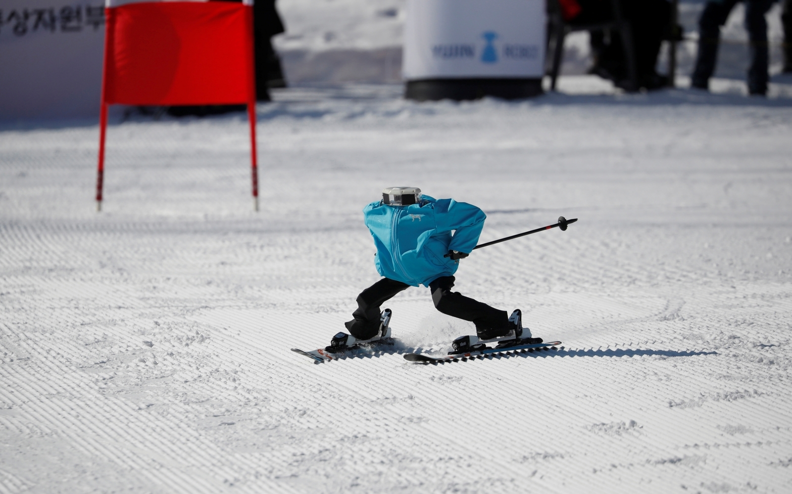 Winter Olympics 2018: Robots take to the slopes on sidelines of Games