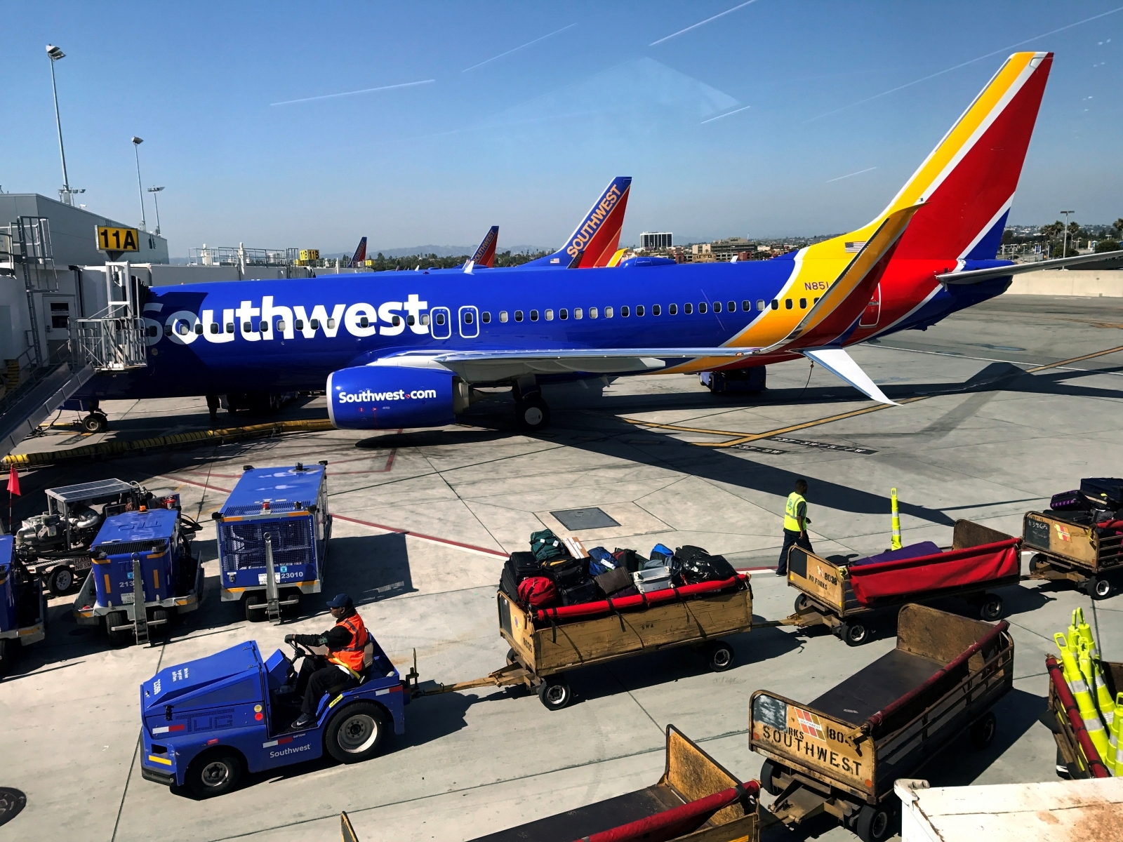 Southwest flight forced to evacuate due to smoke in the aircraft