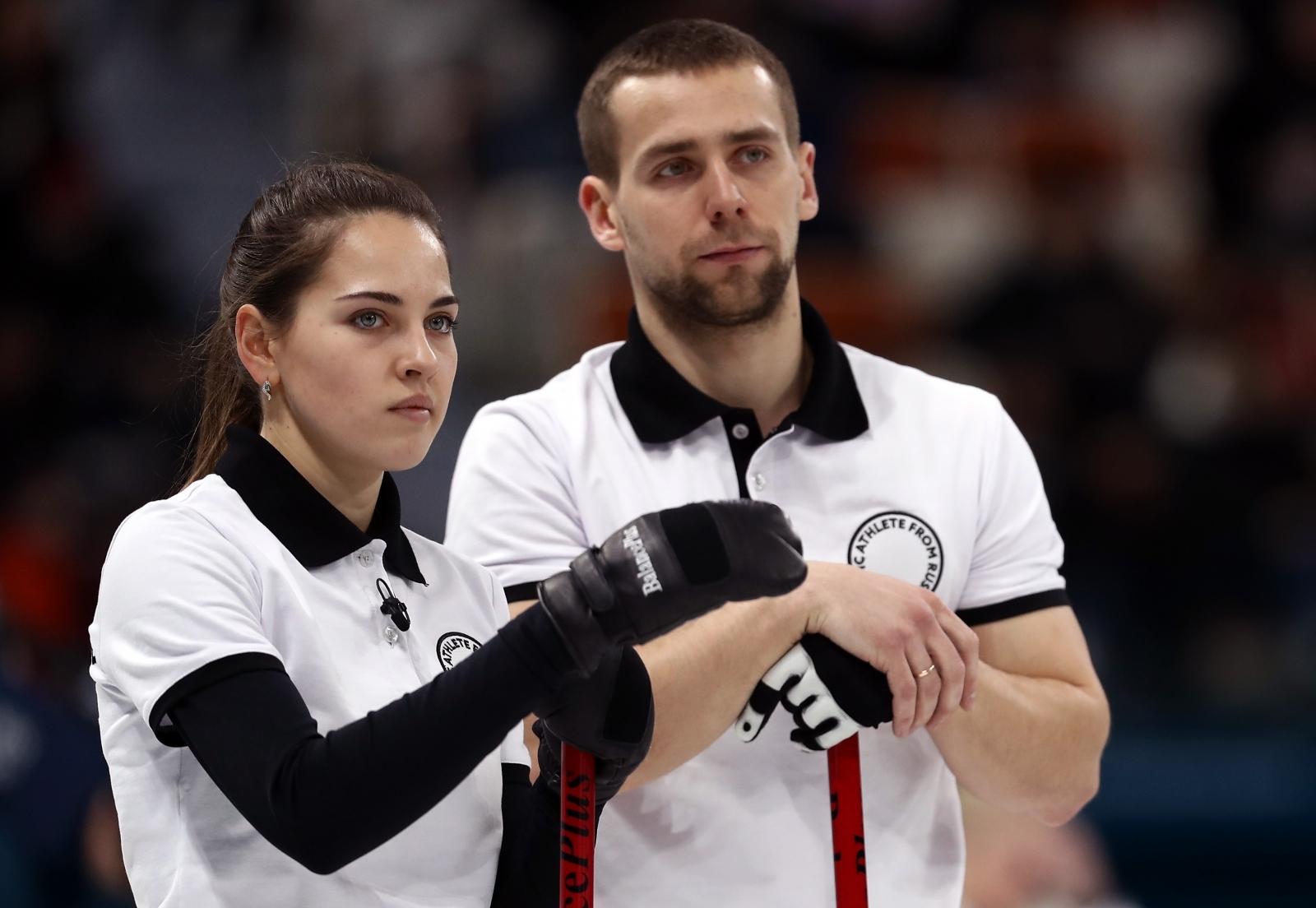 Aleksandr Krushelnitckii and Anastasia Bryzgalova