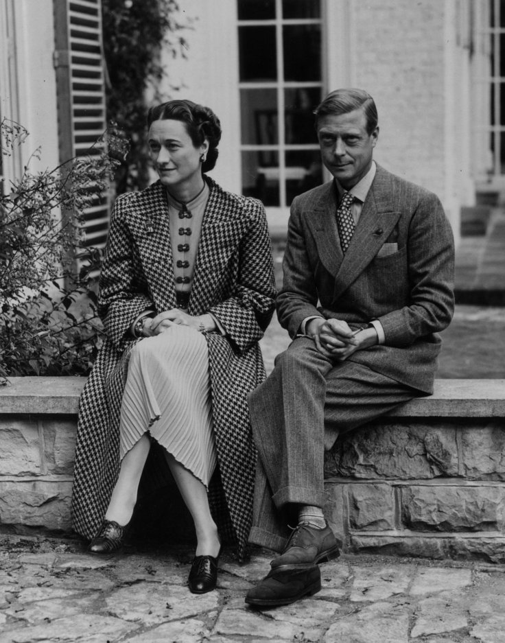 Edward VIII and Wallace Simpson.