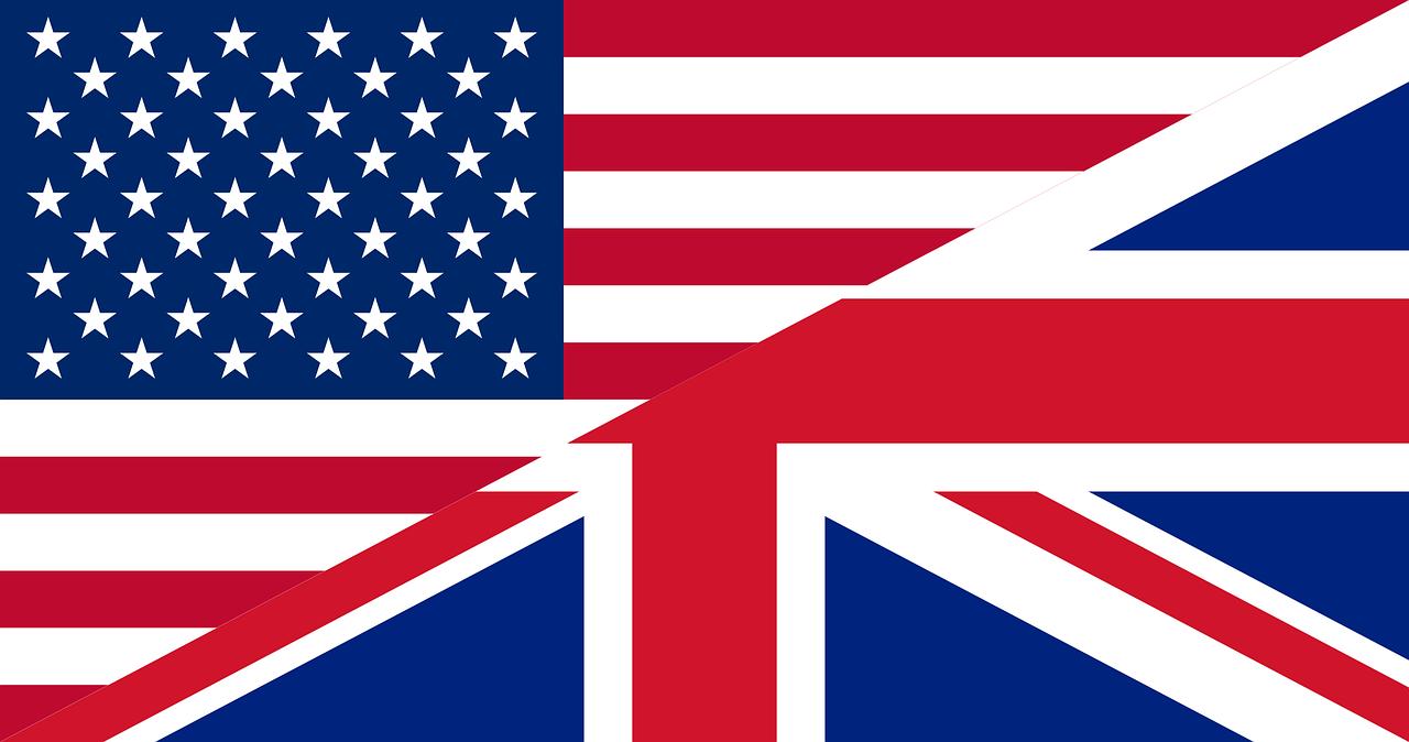 USA Britain UK flag