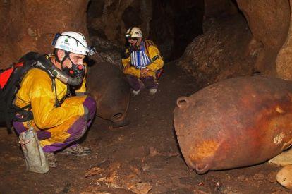 Prehistoric wine caves
