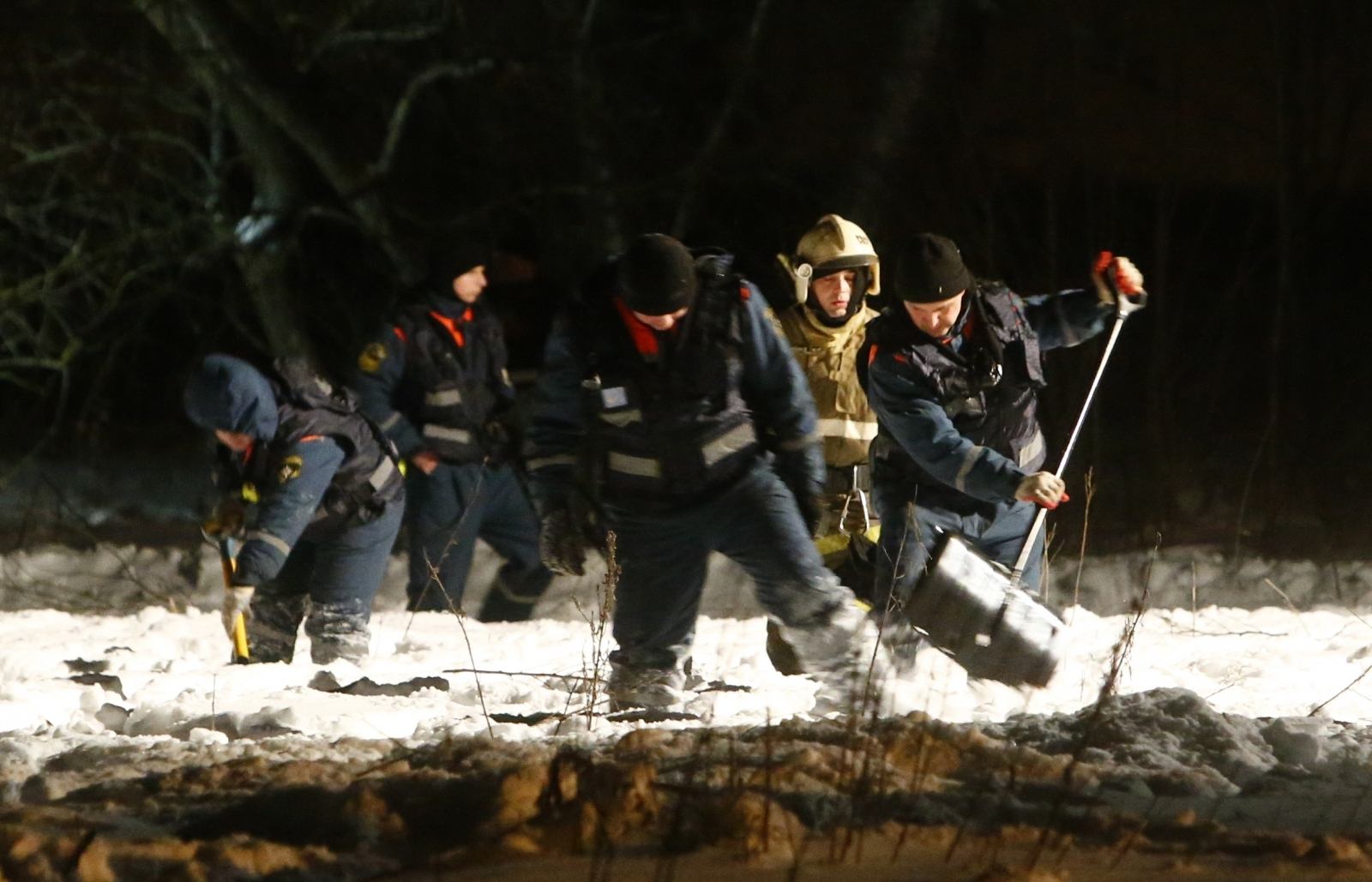 Russian Plane Crashes Near Moscow, Killing 71 People: Agencies
