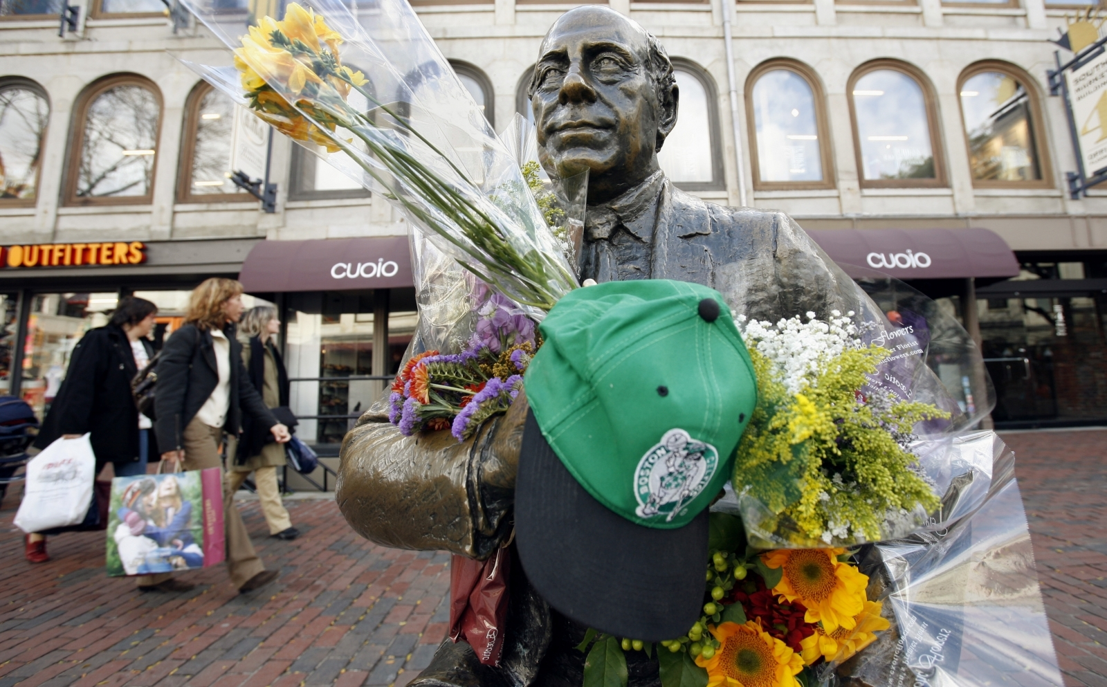 Boston police criticized after tweeting Black History Month tribute to Red Auerbach