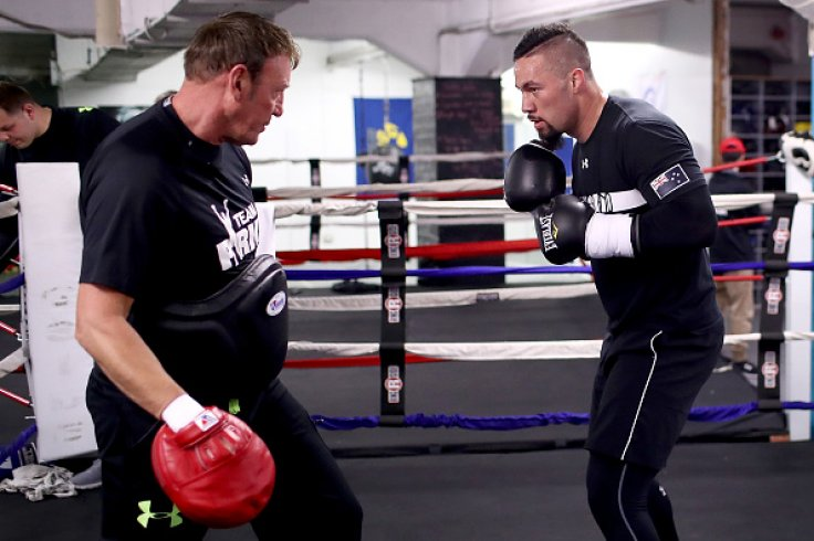 Kevin Barry and Joseph Parker