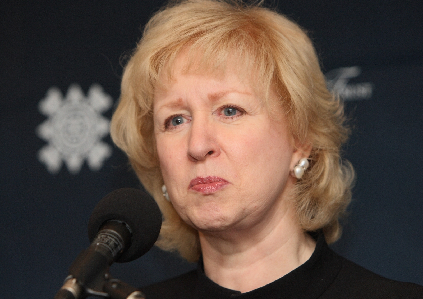 Ex-Canadian PM Kim Campbell