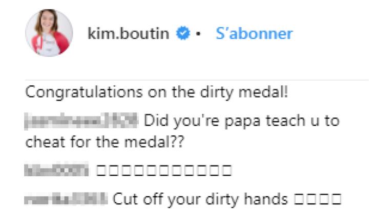 Kim Boutin Instagram