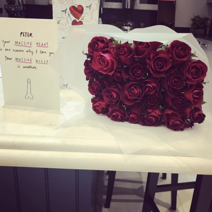peter andre reveals naughty valentine s day message from wife emily