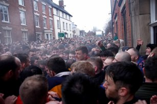 Royal Shrovetide Football Ashbourne