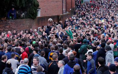 Royal Shrovetide Football Ashbourne