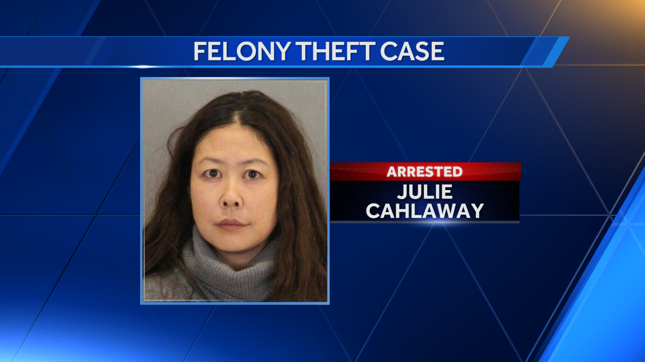 Julie Cahlaway is accused of using faked ultrasound pictures as part of an elaborate plan to scam cash from men
