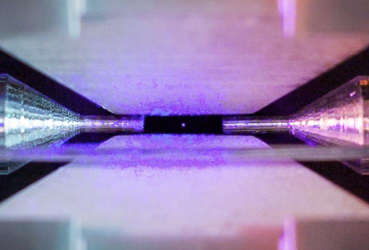 Single atom image